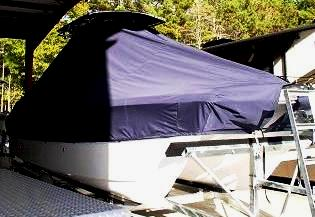 Carolina Cat 23CC, 20xx, TTopCovers™ T-Top boat cover, starboard front