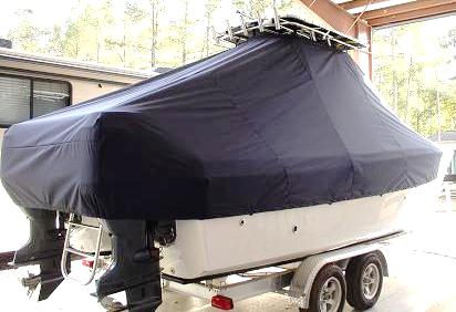 Carolina Cat 23CC, 20xx, TTopCovers™ T-Top boat cover, starboard rear