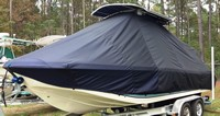 TTopCovers™ Carolina Skiff, 23 Ultra, 20xx, T-Top Boat Cover, port front