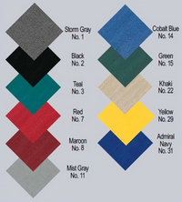 Sun-DURA® is our most colorfast Polyester fabric. Click to enlarge Carver® Custom-Fit Boat-Covers Sun-DURA® Color choices
