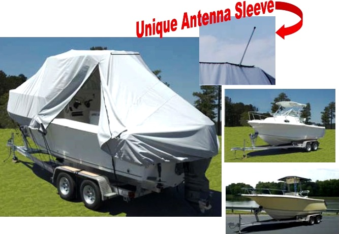 T-Top Hard-Top Walk Around Cuddy boat cover up to 18/'