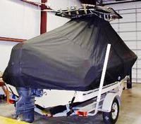 Photo of Century 2001CC 20xx T-Top Boat-Cover, Rear