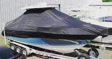 Century 2900CC, 20xx, TTopCovers™ T-Top boat cover, starboard front