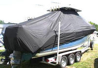 Photo of Century 2901CC 20xx T-Top Boat-Cover sbtd, Rear
