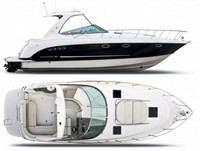 Chaparral, 350 Signature Hard Top, 2009, Front Connector, Side Curtains, Aft Curtains, rear