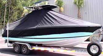 Chris Craft 26CC, 20xx, TTopCovers™ T-Top boat cover, starboard front