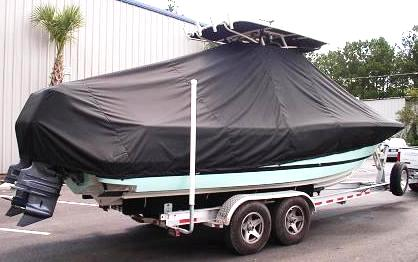 Chris Craft 26CC, 20xx, TTopCovers™ T-Top boat cover, starboard rear