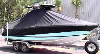 Chris Craft Catalina 26CC, 20xx, TTopCovers™ T-Top boat cover, starboard front