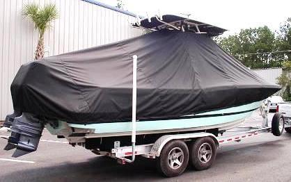 Chris Craft Catalina 26CC, 20xx, TTopCovers™ T-Top boat cover, starboard rear