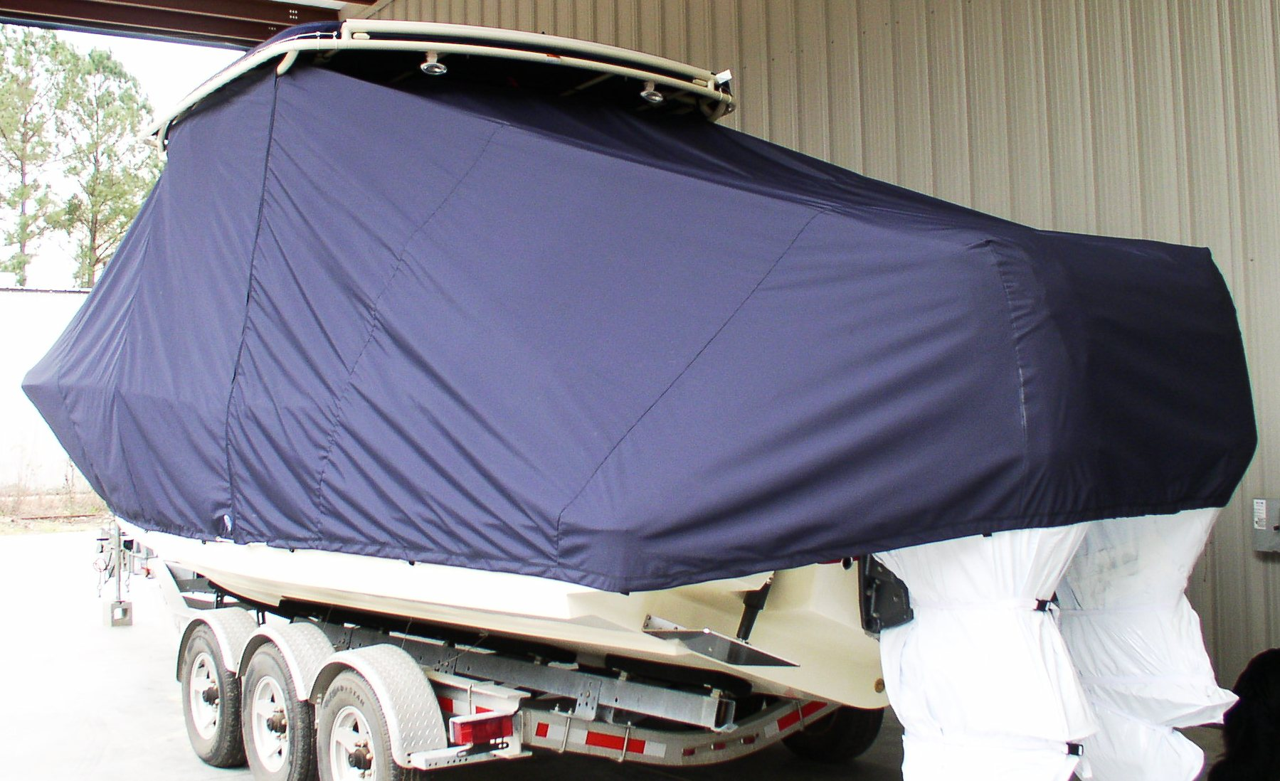 Chris Craft Catalina 29 Sun Tender, 20xx, TTopCovers™ T-Top boat cover, port rear
