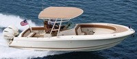 Photo of Chris Craft Catalina 29 Suntender 2017 Arch Tower-Top, viewed from Starboard, Side, Above