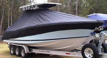 Chris Craft Catalina 29 T Top, 20xx, TTopCovers™ T-Top boat cover, starboard front