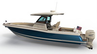 Chris Craft, Calypso 30, 2020, Hard Top, port rear