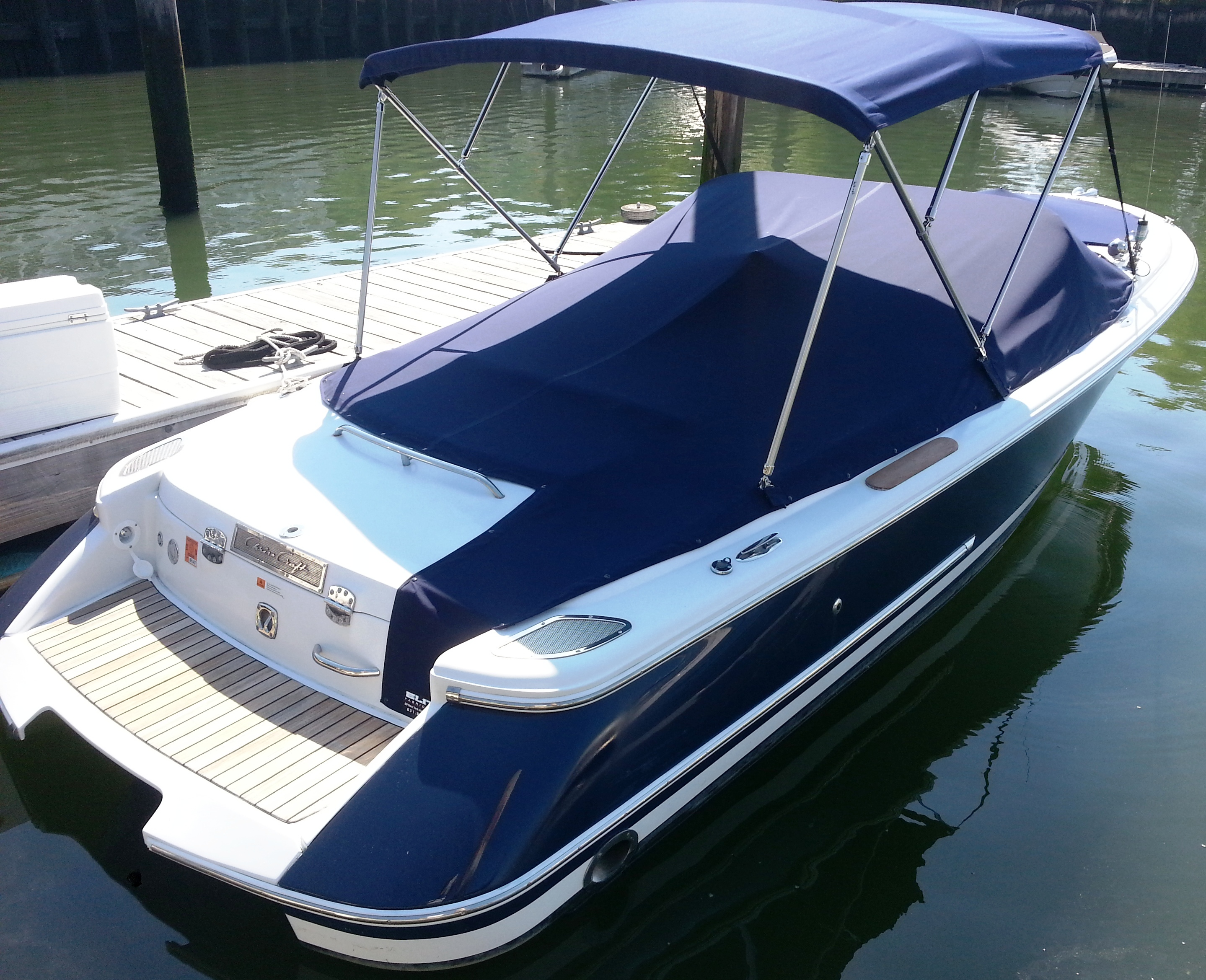 Bow Cover Factory Oem For Chris Craft Launch 22 2002