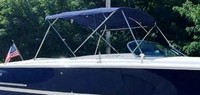 Chris Craft, Launch 28, 2001, Bimini Top, stbd front