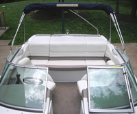 Photo of Cobalt 206, 2002: Bimini Top in Boot, Front
