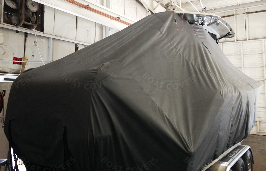 Cobia 301CC, 20xx, TTopCovers™ T-Top boat cover, starboard rear