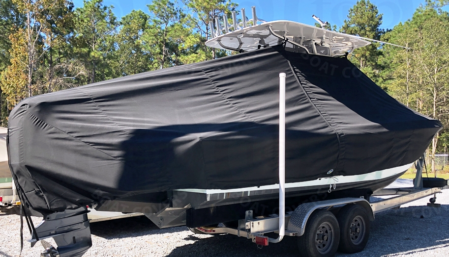 Concept 25CC, 19xx, TTopCovers™ T-Top boat cover, starboard rear