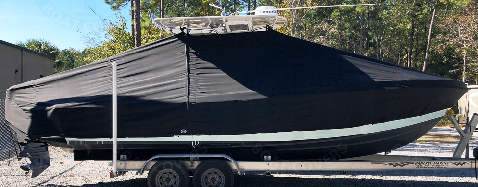 Concept 25CC, 19xx, TTopCovers™ T-Top boat cover, starboard side