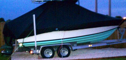 Contender 21 Open, 2011, TTopCovers™ T-Top boat cover, starboard side