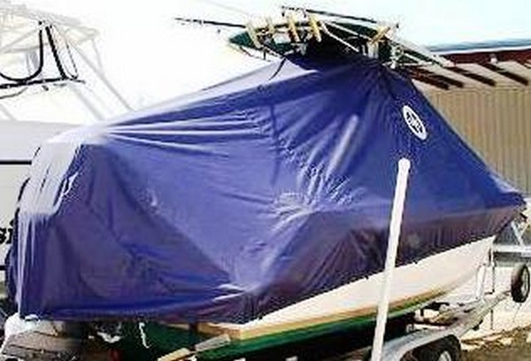 Contender 23 Open, 19xx, TTopCovers™ T-Top boat cover, starboard rear