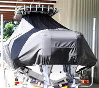 Photo of Contender 32 20xx T-Top Boat-Cover, Rear