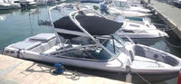 Correct Craft, 230, 2008, Bimini Top, stbd front