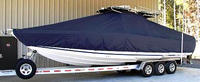 TTopCover™ Donzi, 35 ZFO, 20xx, T-Top Boat Cover, port front