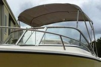 Photo of Edgewater 205EX, 2005: Bimini Top, viewed from Port Front