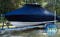 Photo of Edgewater 245CC 20xx T-Top Boat-Cover, Side