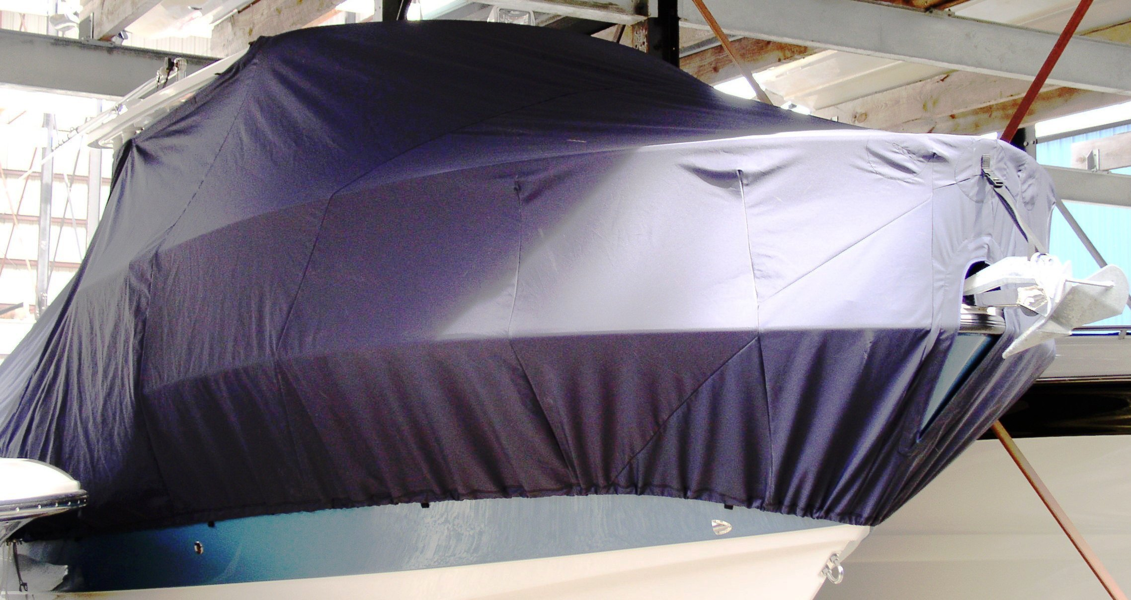 Edgewater 265CC, 20xx, TTopCovers™ T-Top boat cover, starboard front