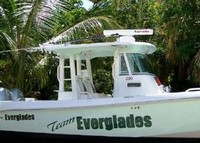 Photo of Everglades 290 Pilot, 2005: Team Everglades Boat Hard-Top, viewed from Starboard Side