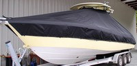 TTopCovers™ Everglades, 290CC, 20xx, T-Top Boat Cover, port front