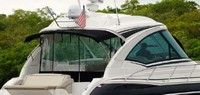 Photo of Formula 45 2014: Camper Top Hard-Top Aft-Drop-Curtain, viewed from Starboard Rear