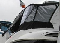 Photo of Formula 48 2006: Hard-Top, Camper Top, Camper Side and Aft Curtains, viewed from Starboard Side