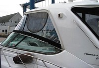 Photo of Formula 48 2006: Hard-Top, Front Connector, Side Curtains, viewed from Port Side
