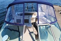 Four Winns, Vista 348, 2005, Bimini Top, Visor, front