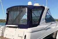 Four Winns, Vista 378 Hard Top, 2007, Front Visor, Side Curtains, Camper Top, Camper Side and Aft Curtains, stbd rear