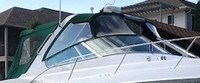 Four Winns, Vista 378, 2002, Bimini Top, Visor, Side Curtains, Camper Top, Camper Side Curtains, stbd front