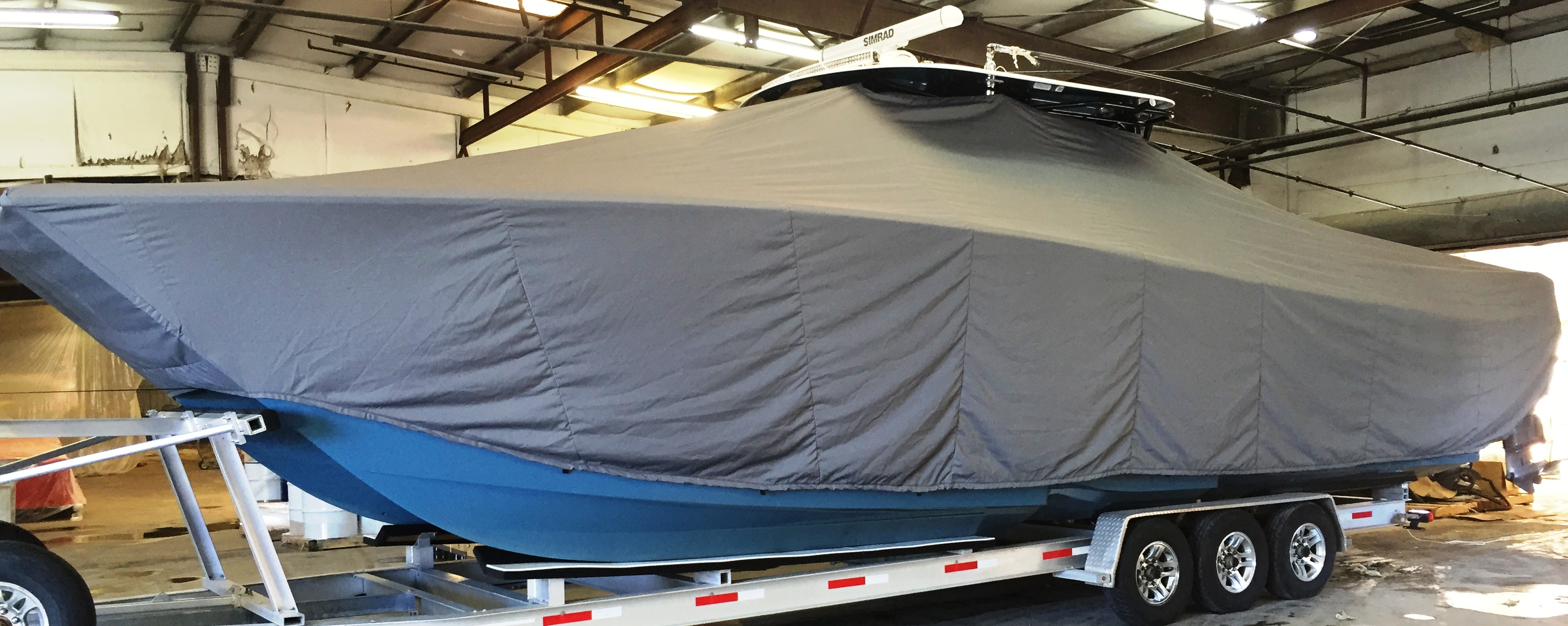 Freeman 37, 20xx, TTopCovers™ T-Top boat cover, port side