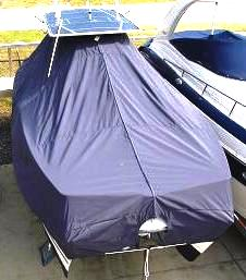 Glacier Bay 2665 Canyon Runner, 20xx, TTopCovers™ T-Top boat cover bow