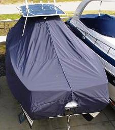 Glacier Bay 2665, 20xx, TTopCovers™ T-Top boat cover rear high