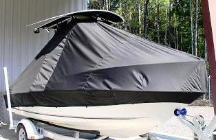 Glassmaster, 196CC, 20xx, TTopCovers™ T-Top boat cover, starboard front