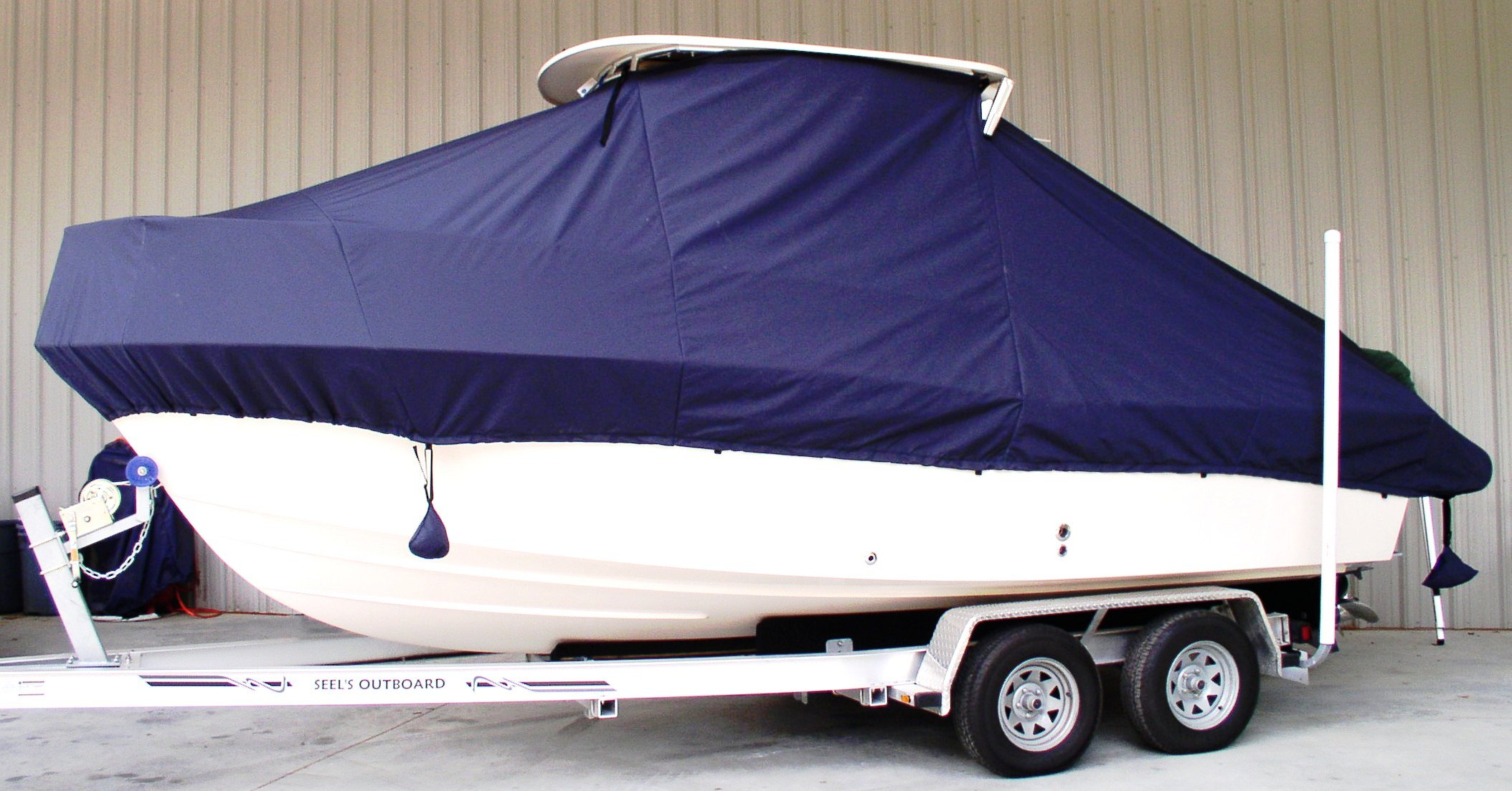 Grady White Adventure 208, 19xx, TTopCovers™ T-Top boat cover, port side