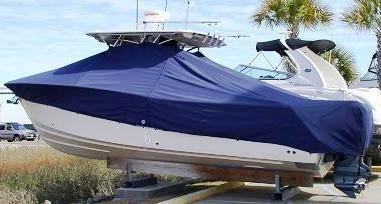 Grady White Bimini 306, 19xx, TTopCovers™ T-Top boat cover, port rear