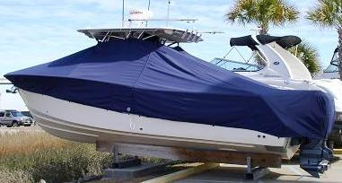 Grady White Bimini 306, 20xx, TTopCovers™ T-Top boat cover, port rear