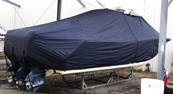 Grady White Canyon 366, 20xx, TTopCovers™ T-Top boat cover, starboard rear