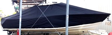 Grady White Canyon 366, 20xx, TTopCovers™ T-Top boat cover, starboard side