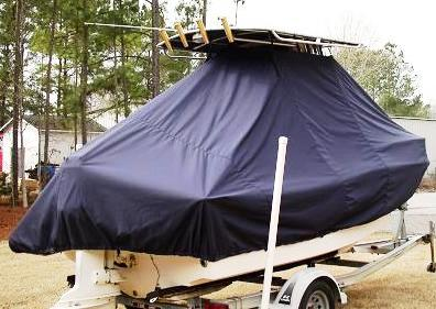 Grady White Fisherman 180, 20xx, TTopCovers™ T-Top boat cover rear