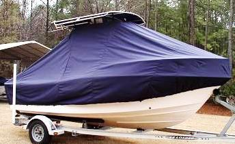 Grady White Fisherman 180, 20xx, TTopCovers™ T-Top boat cover side
